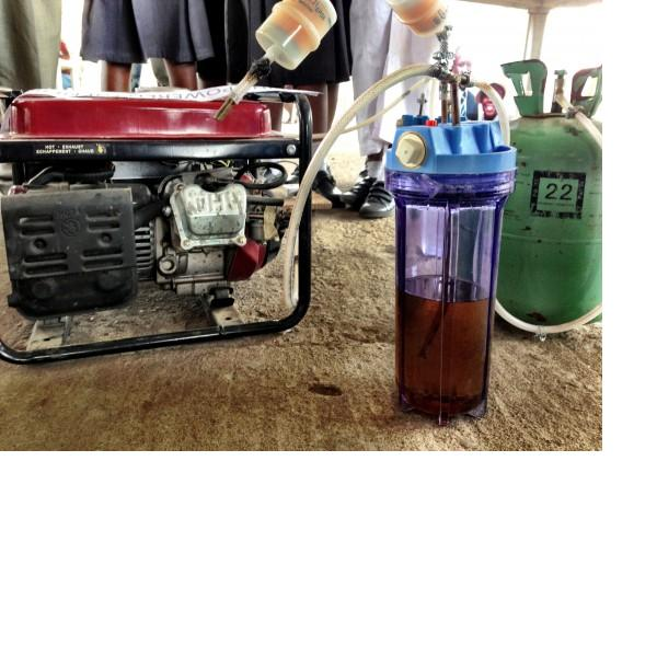 Generator Powered by Urine a Urine Powered Generator